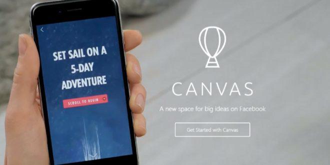 Novo formato do Facebook - Canvas a ferramenta para criar anúncios imersivos em mobile