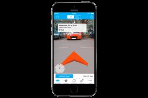 augmented-car-finder-for-iphone-720x480-300x200 Conheça 6 aplicativos com Realidade Aumentada