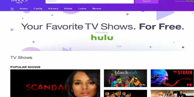 Yahoo lança novo site como ponto de contato para conteúdos de TV
