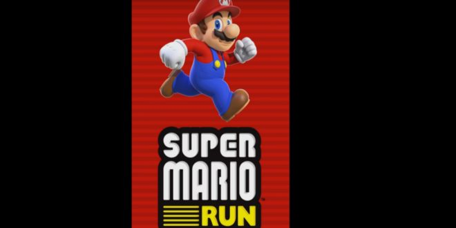 Nintendo super mario run mobile v