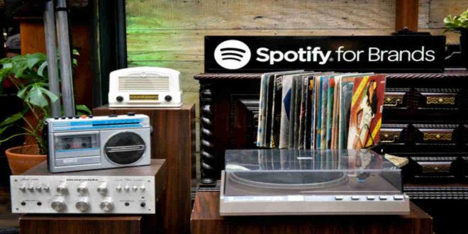 spotify brands power music pontos de contato
