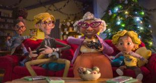 presente de Natal publicidade pontos de contato