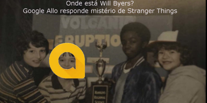 Google Allo responde mistério de Stranger Things