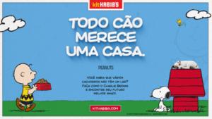 habibs-snoopy-300x169 Adoção de cães é tema da campanha do Habib´s