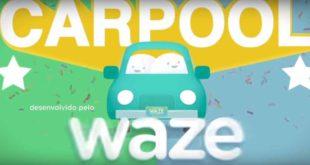 Waze divulga serviços de carona no Brasil
