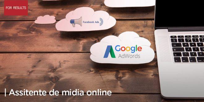 VAGA DE ASSISTENTE DE MÍDIA ONLINE - FOR RESULTS