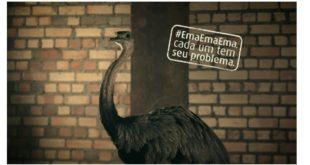 Campanha institucional de Algar brinca com a frase popular #EmaEmaEma