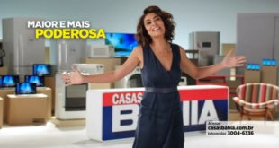 Juliana Paes a nova garota propaganda das Casas Bahia