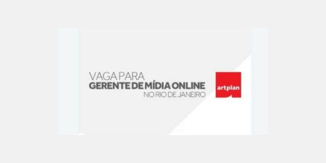 Gerente de Mídia Online - Artplan