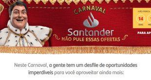 Faustão estrela ação de Carnaval do banco Santander